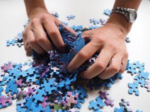 Moja nowa firma i puzzle trefl