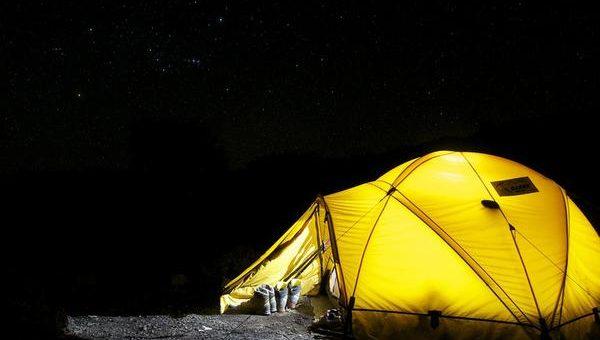 Zakup odpowiedniego namiotu