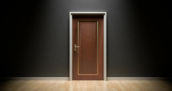 Nowoczesne drzwi do domu lub mieszkania
