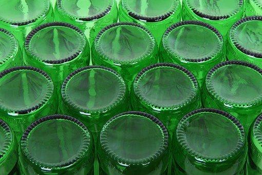 Praktyczne szklane butelki